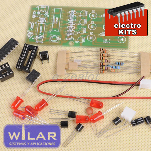 DADO ELECTRONICO EN KIT