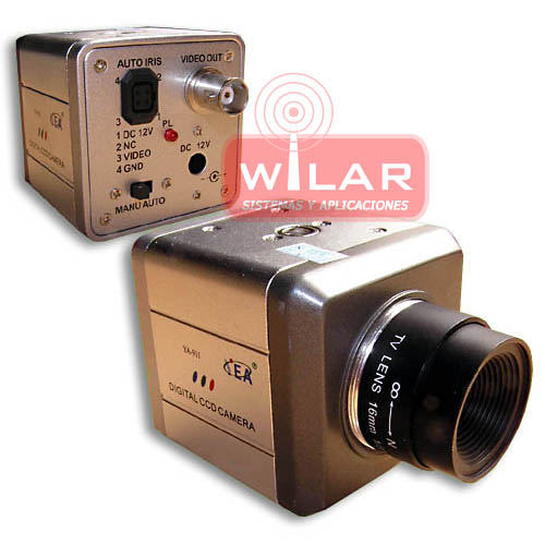 MINI CAMARA COLOR LENTE INTERCAMBIABLE